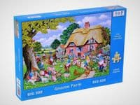 Gnome Farm - 500XL Pieces|House of Puzzles